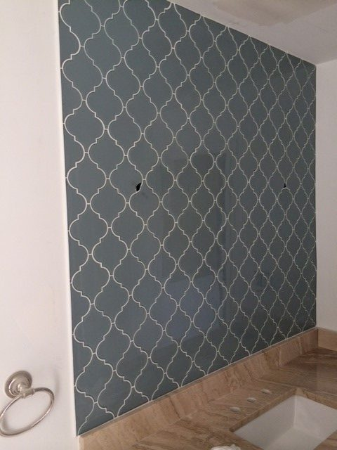 Tile backsplash in Johns Creek, GA from Prestigious Flooring and Design