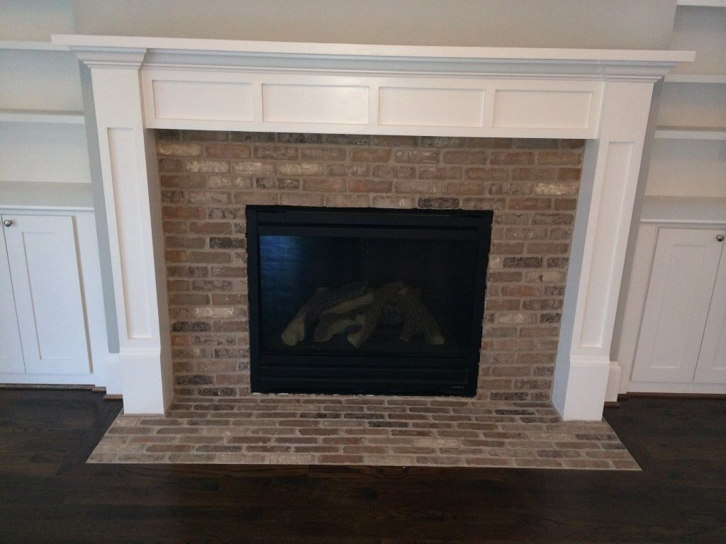 Fireplace in Johns Creek, GA from Prestigious Flooring and Design