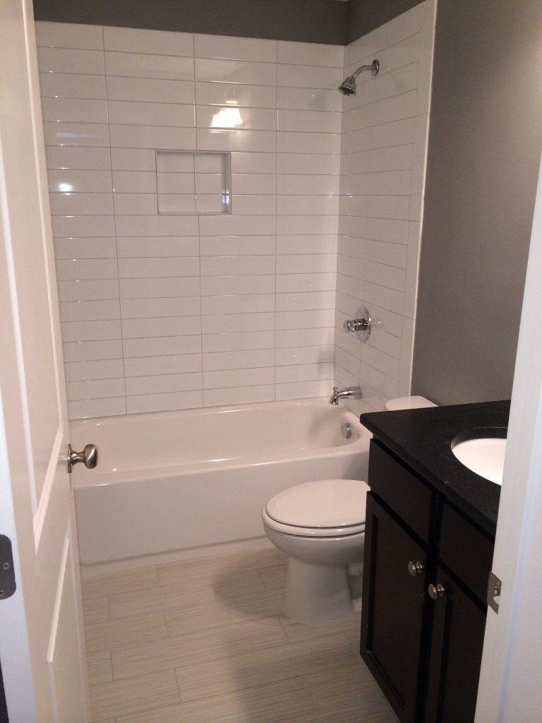 Tub surround in Milton, GA from Prestigious Flooring and Design