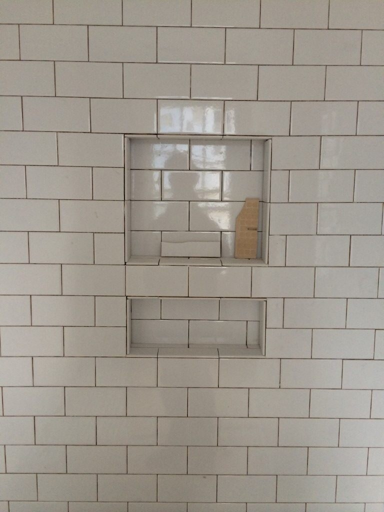 Custom shower tile in Alpharetta, GA from Prestigious Flooring and Design