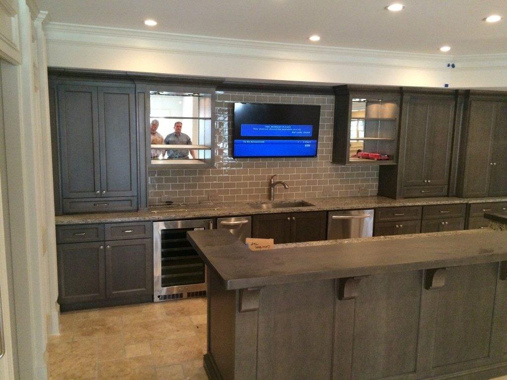 Kitchen remodel in Johns Creek, GA from Prestigious Flooring and Design