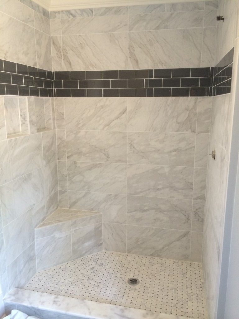 Wall tile in Johns Creek, GA from Prestigious Flooring and Design