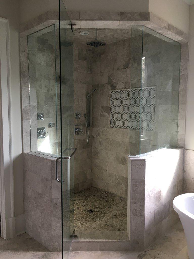 Custom shower tile in Atlanta, GA from Prestigious Flooring and Design