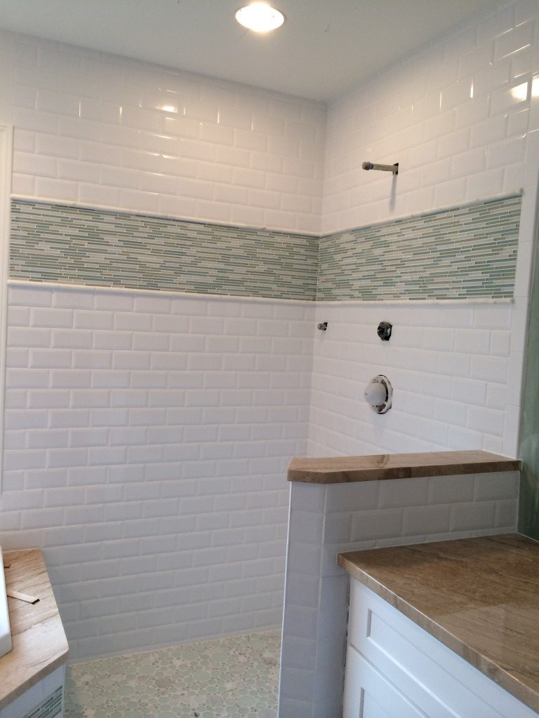 Custom bathroom tile in Milton, GA from Prestigious Flooring and Design