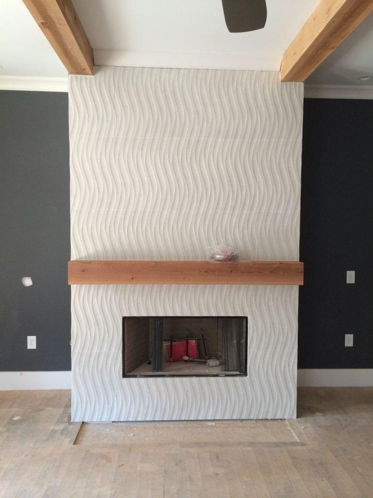 Custom fireplace in Cumming, GA from Prestigious Flooring and Design