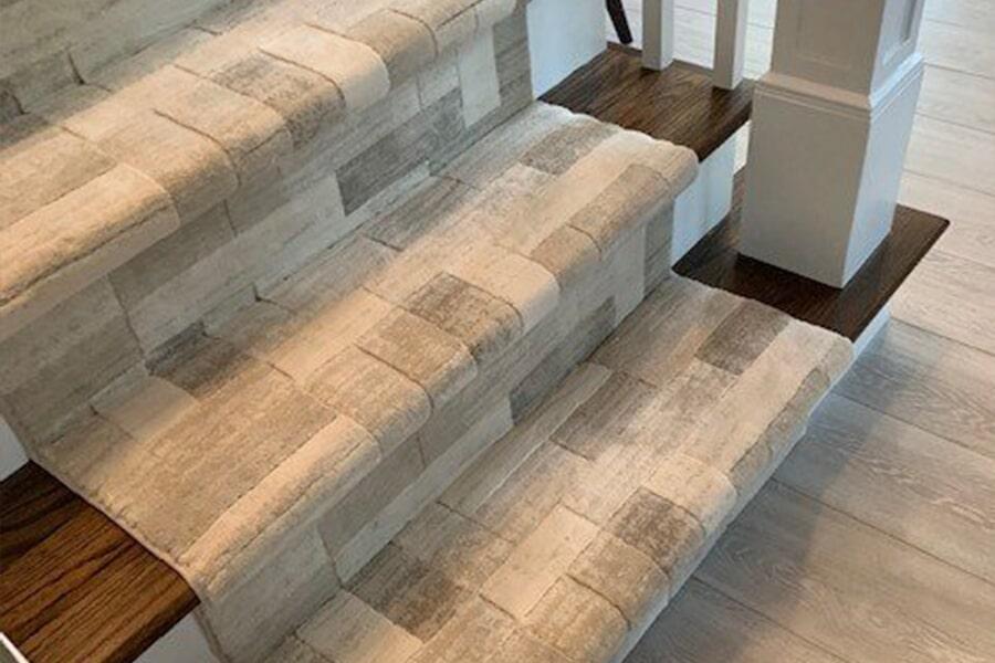 Hall and Steps, Ashland, MA | Couristan City Block