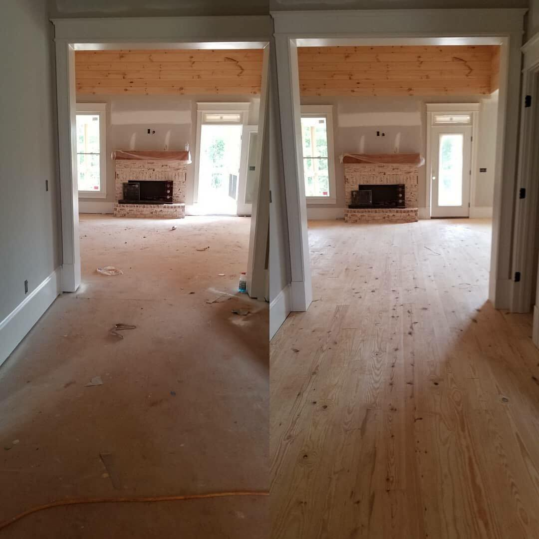 Winder, GA hardwood installation from Carpets Unlimited