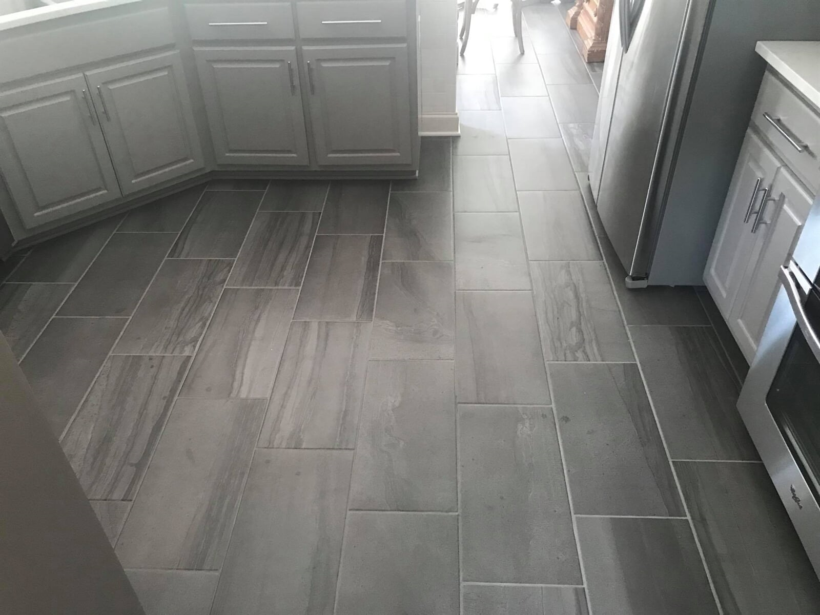 Kitchen tile installation in Watkinsville, GA from Carpets Unlimited