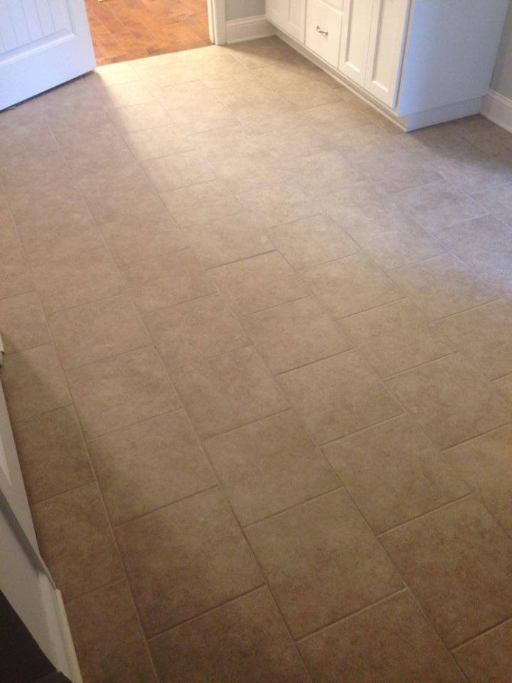 Medium tone tile flooring in Athens, GA from Carpets Unlimited