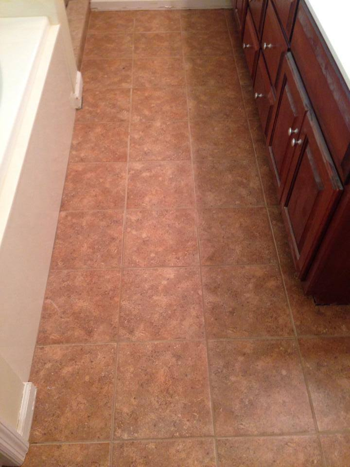 Custom tile bathroom floors in Winder, GA