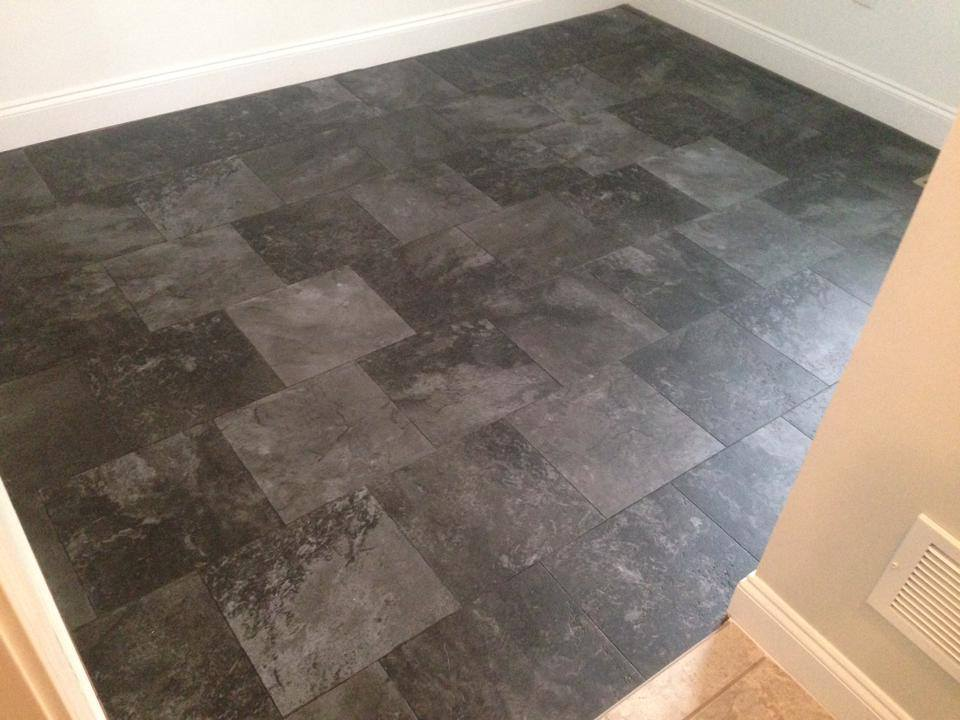 Stone flooring installation in Winder, GA from Carpets Unlimited