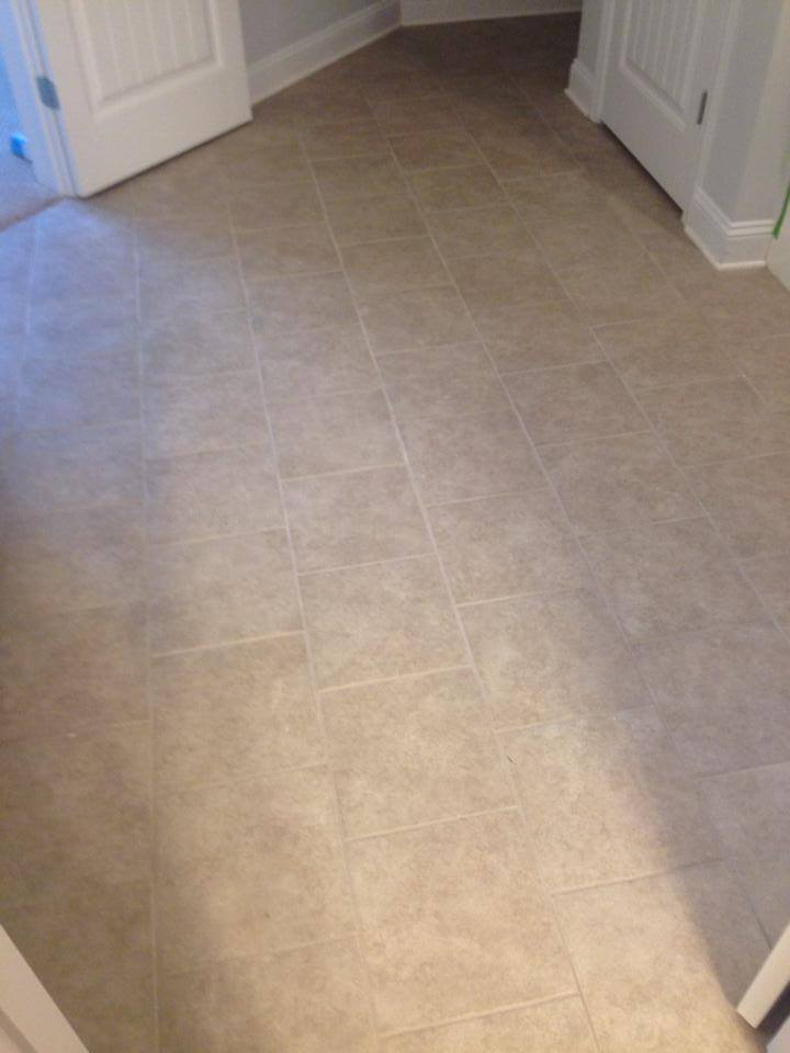 Classic floor tiles from Carpets Unlimited in Athens, GA