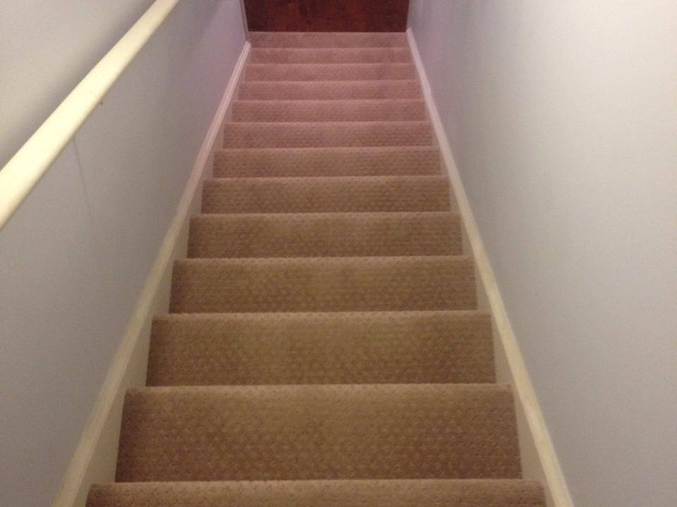 Stair carpet from Carpets Unlimited in Athens, GA