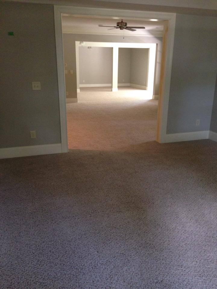 Fresh carpet installation in Watkinsville, GA from Carpets Unlimited