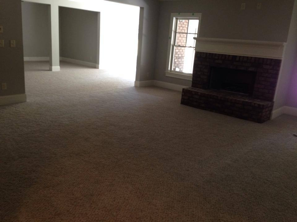 Carpet for a home project in Winder, GA from Carpets Unlimited