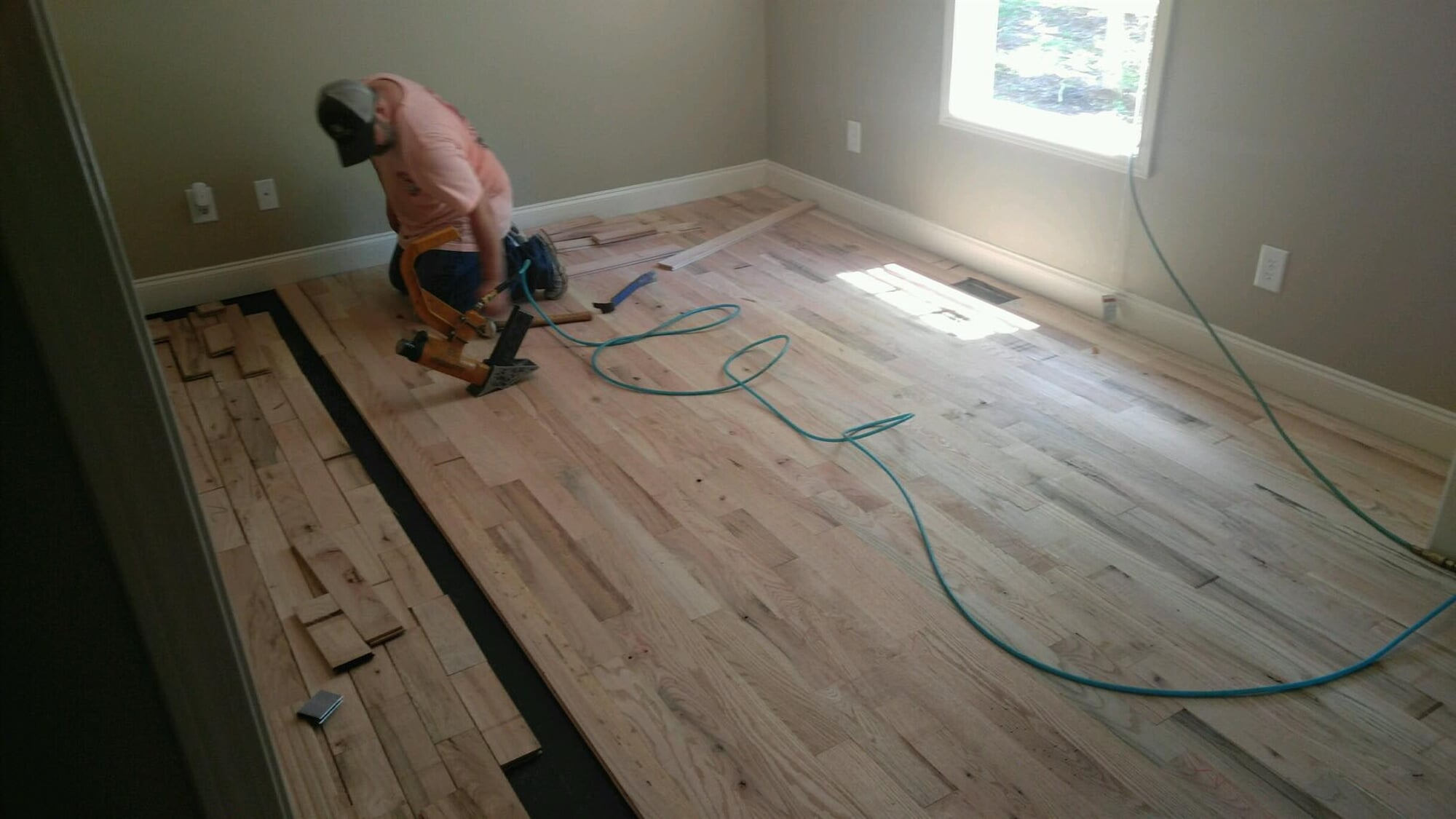 Our professional hardwood installation team in Athens, GA