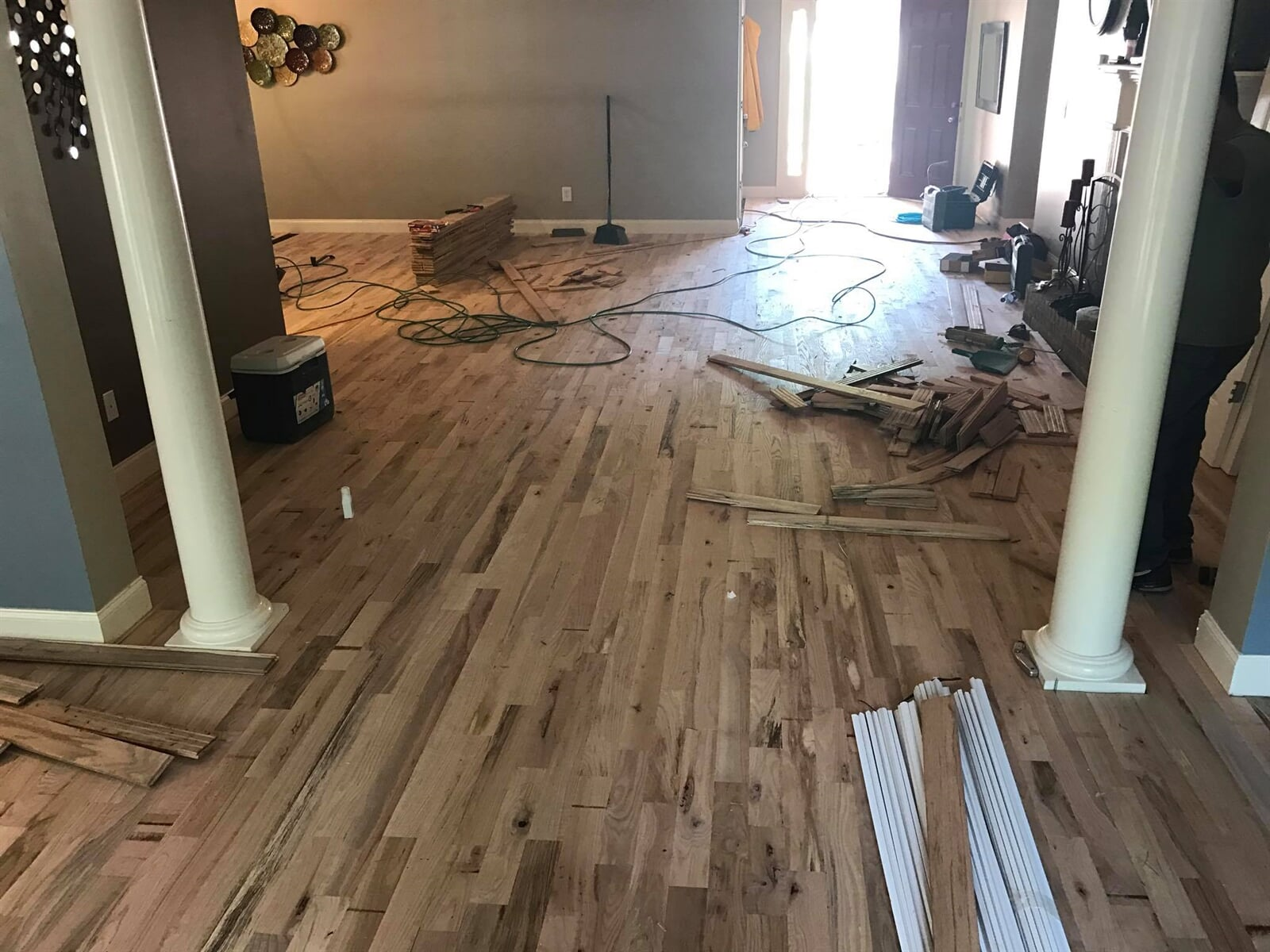 Installing hardwood floors in Watkinsville, GA
