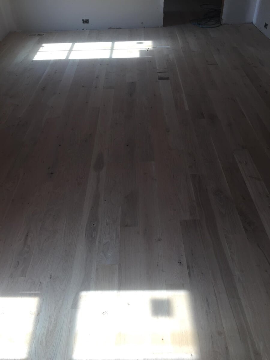Grayscale hardwood from Carpets Unlimited in Athens, GA