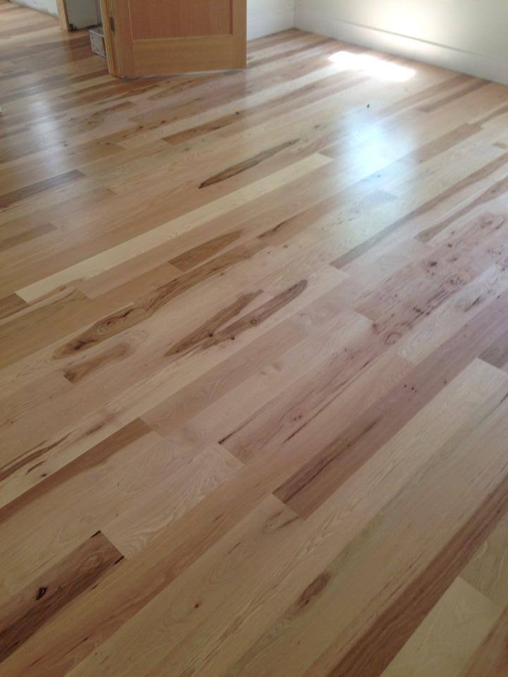 High gloss light tone hardwood from Carpets Unlimited in Athens, GA
