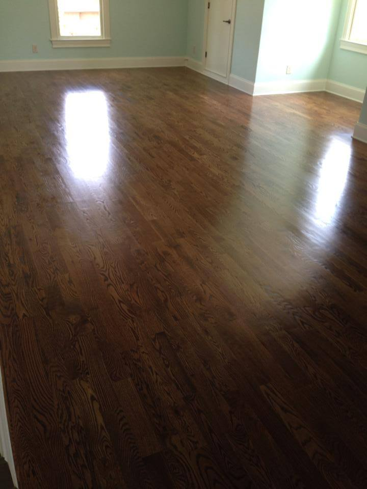 Dark color hardwood floors in Winder, GA from Carpets Unlimited