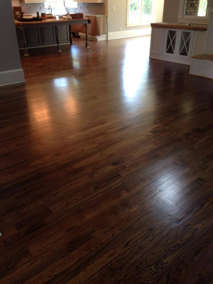 Dark hickory hardwood in Watkinsville, GA from Carpets Unlimited