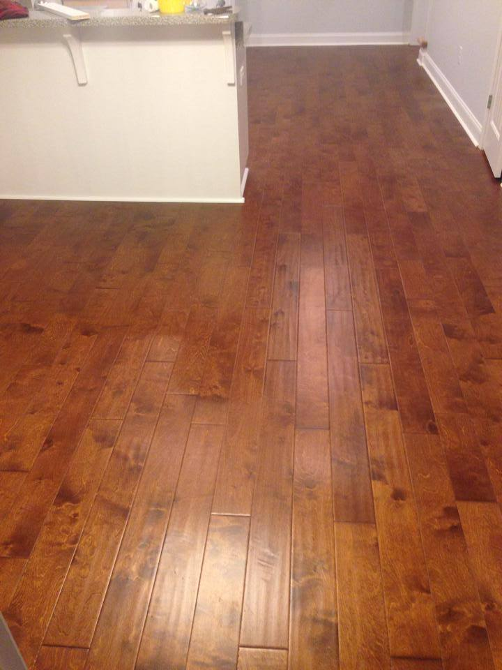 High grain hardwood flooring from Carpets Unlimited in Athens, GA