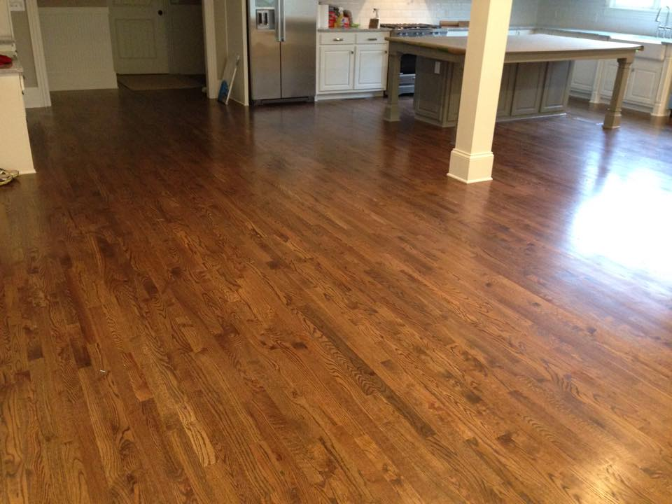 Maple hardwood flooring from Carpets Unlimited in Athens, GA