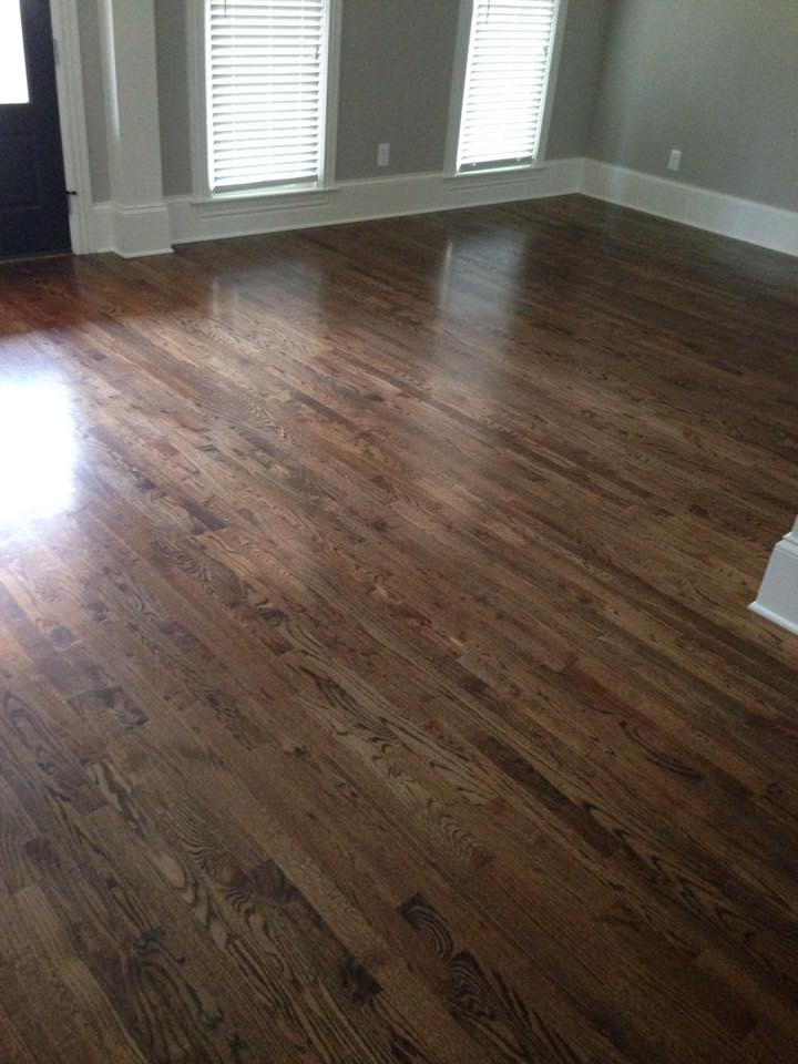High shine hardwood flooring in Athens, GA from Carpets Unlimited