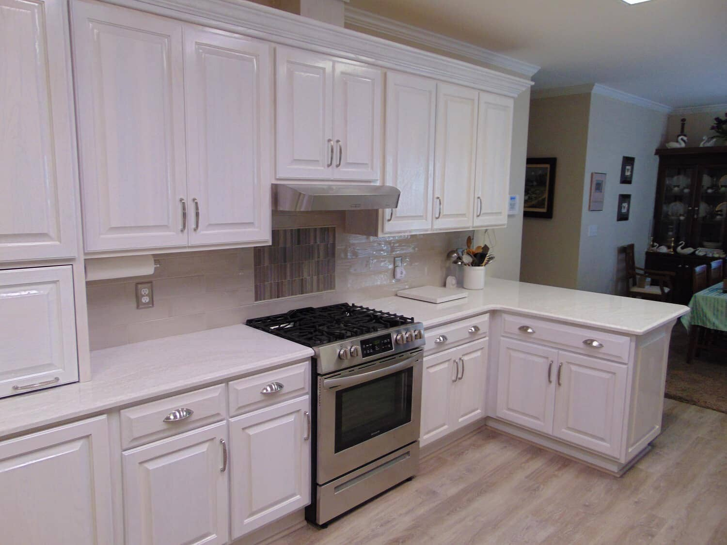Kitchen renovations from Richie Ballance Flooring & Tile in the Wilson, NC area