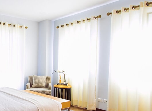 Valance from Capitol Carpet & Tile and Window Fashions in Delray Beach, FL