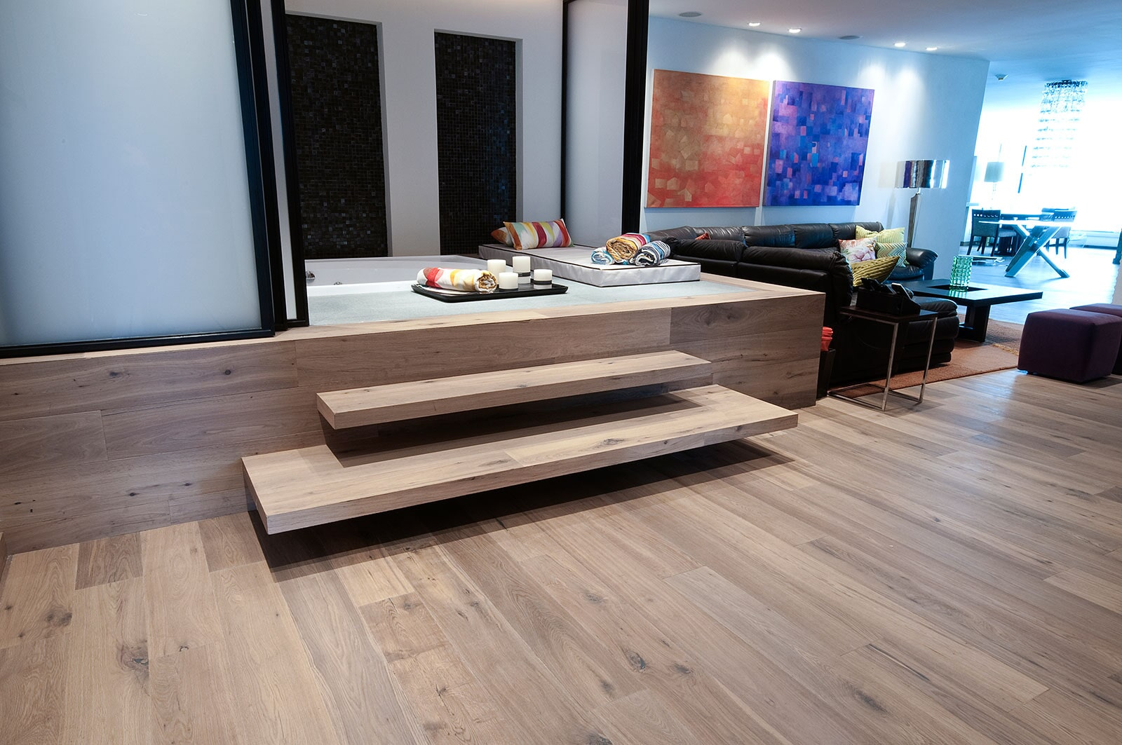 Contemporary wood flooring in The Hamptons, NY from Sota Floors