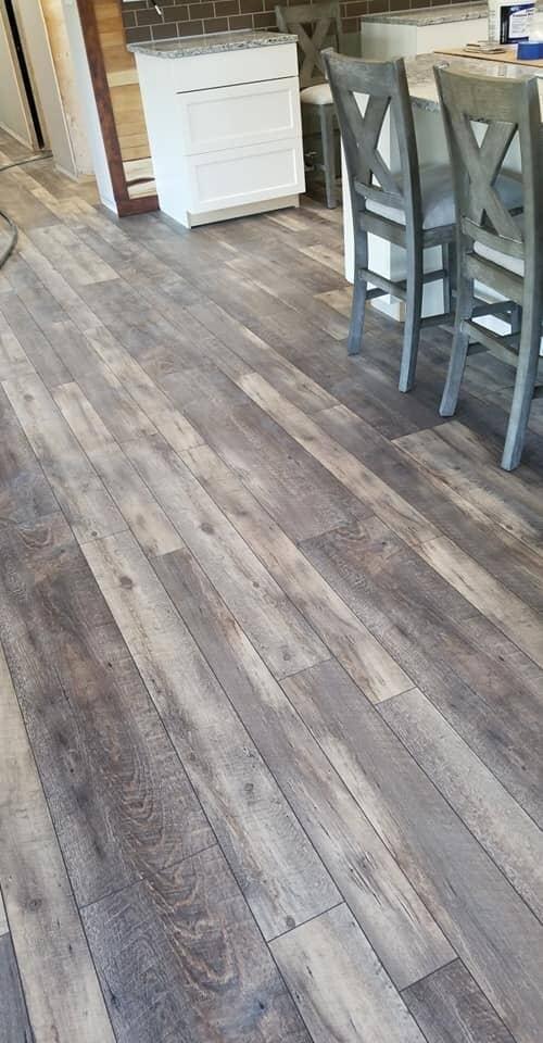 Modern kitchen flooring installation in Van Wert, OH from Carpet Wholesalers