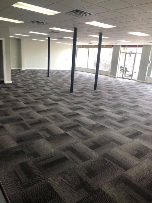 Commercial carpet installation in Hamler, OH from Carpet Wholesalers