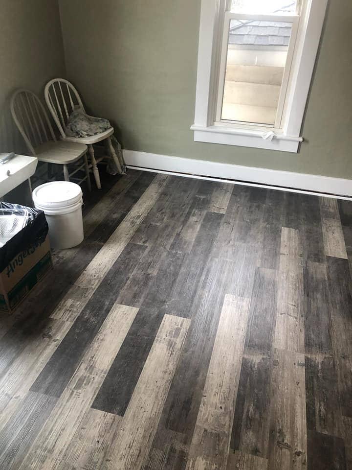 Beautiful wood look vinyl in Bryan, OH from Carpet Wholesalers