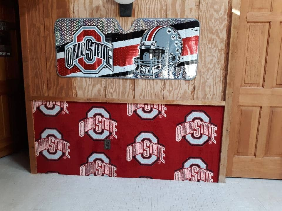 Custom Ohio State designs in Defiance, OH from Carpet Wholesalers