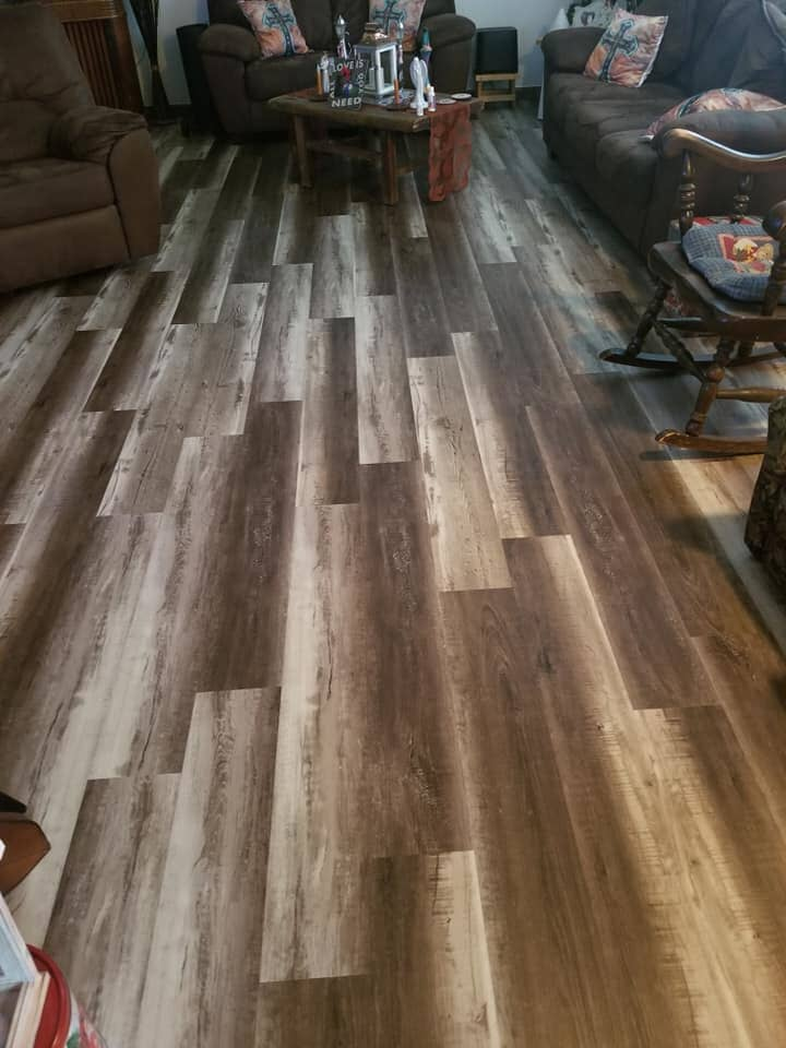 Modern multi tone hardwood flooring in Napoleon, OH from Carpet Wholesalers