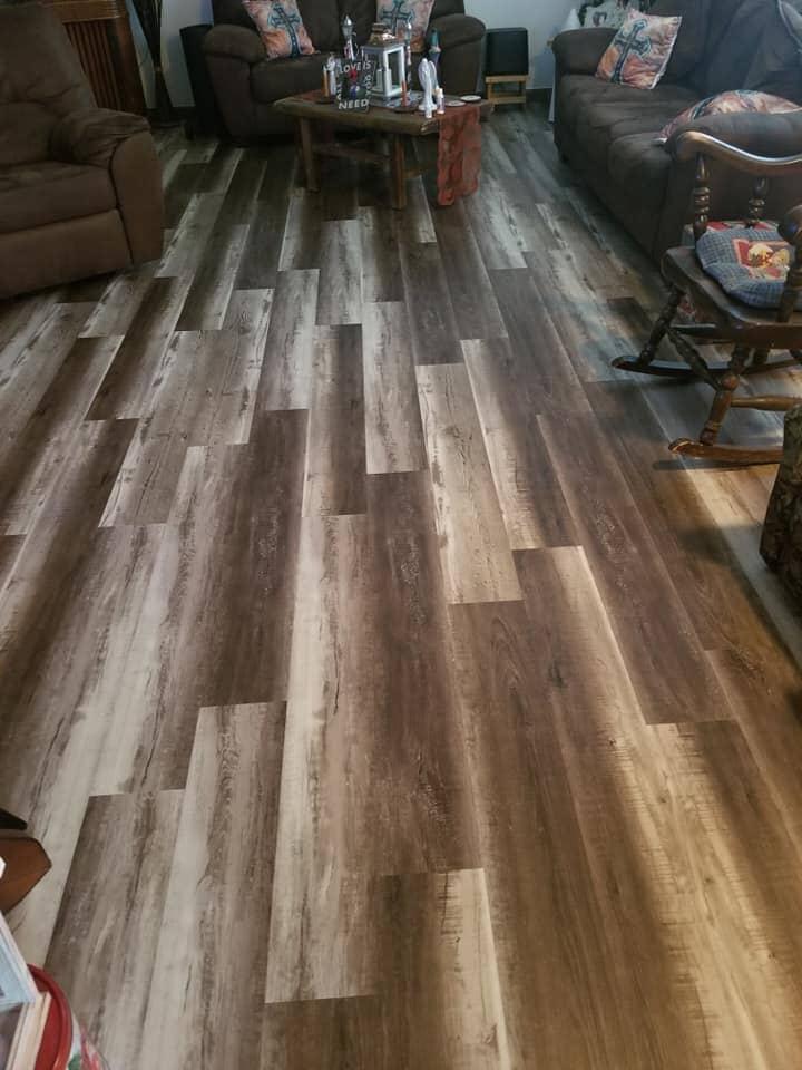 Modern multi tone hardwood flooring in Napoleon, OH from Carpet Wholesalers