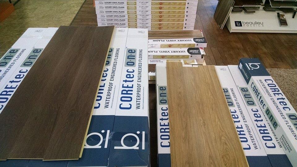 Coretec Flooring offering wood looks with waterproof capabilities in Van Wert, OH