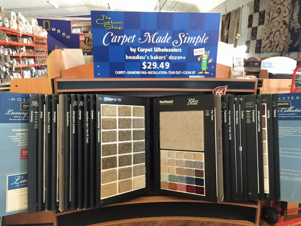 Carpet Wholesalers has Carpet Made Simple, ready for your Convoy, OH home