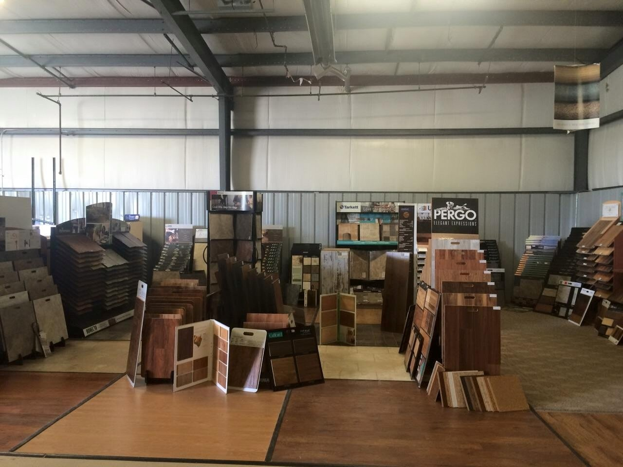 Pergo flooring display and more at our Defiance, OH location