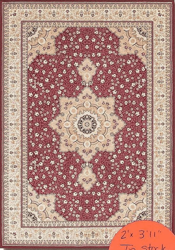 Izmir Floral Herati Persia Red
