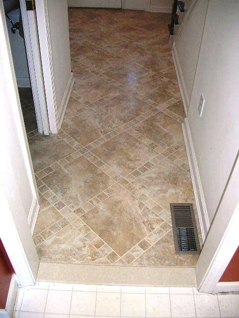 Travertine tile flooring in Hartford, CT from Custom Floors