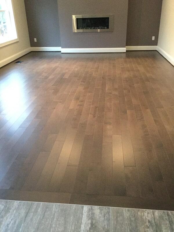 Narrow plank hardwood floors in Glastonbury, CT from Custom Floors
