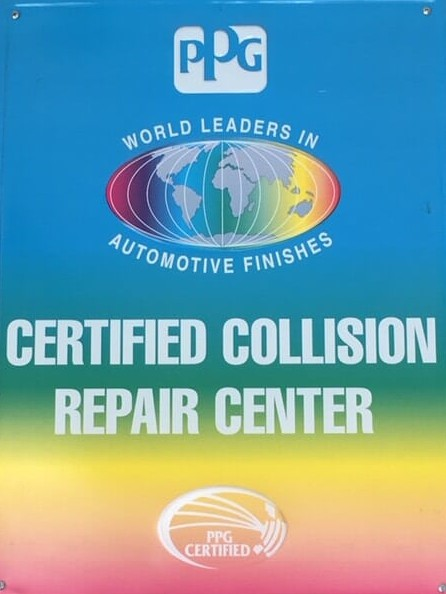 Poster for Certified Collision Repair Center