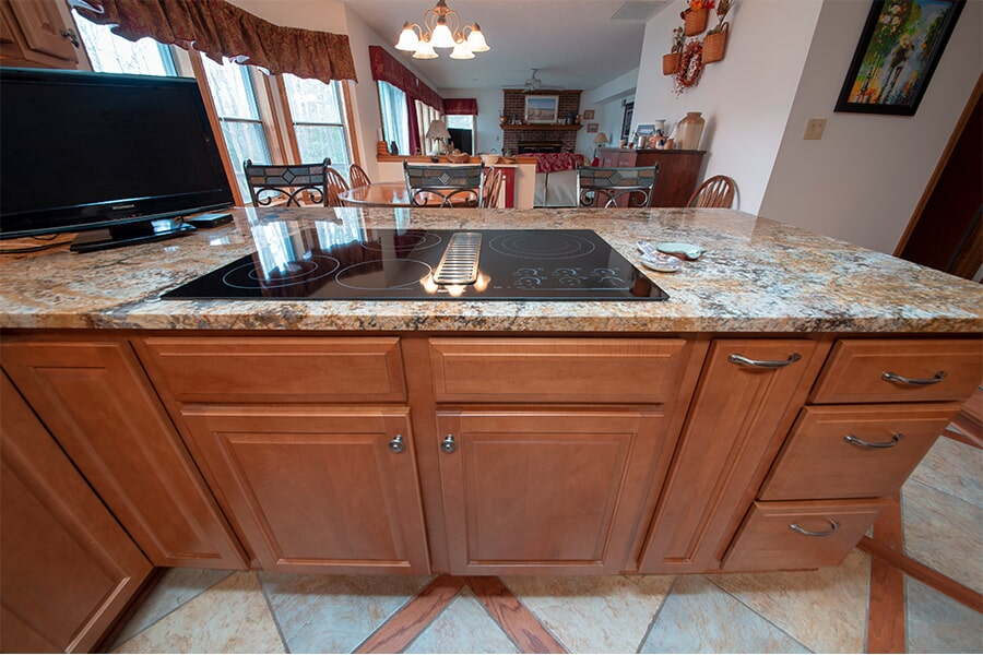 Kitchen remodeling in St. Leonard, MD by Southern Maryland Kitchen Bath Floors & Design