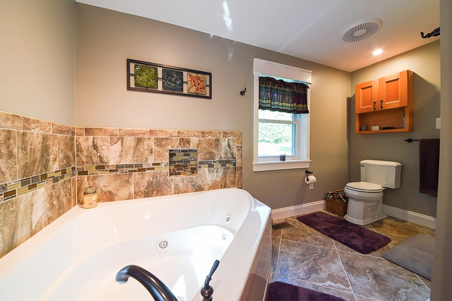 Bathroom remodeling in La Plata, MD by Southern Maryland Kitchen, Bath, Floors & Design