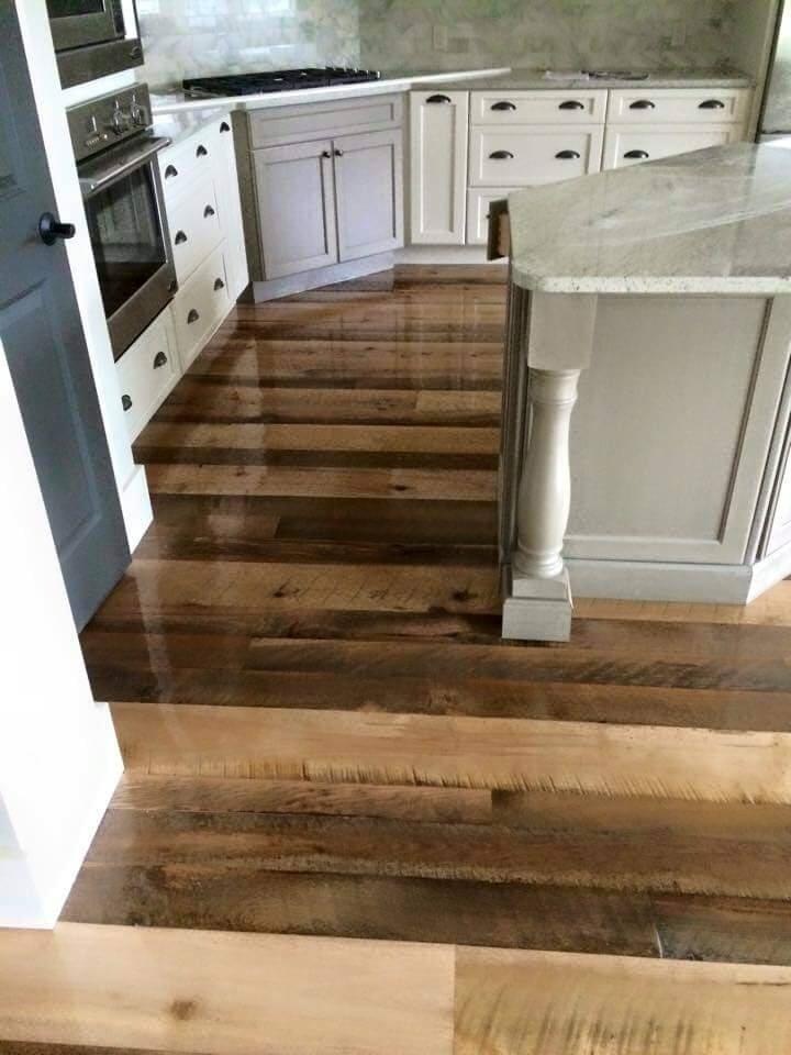 Kitchen flooring installation in Ridgeland, SC from Specialty Flooring