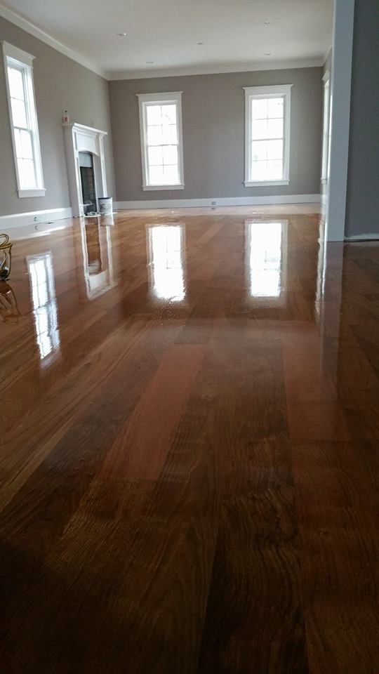 High gloss hardwood flooring in Savannah, GA from Specialty Flooring