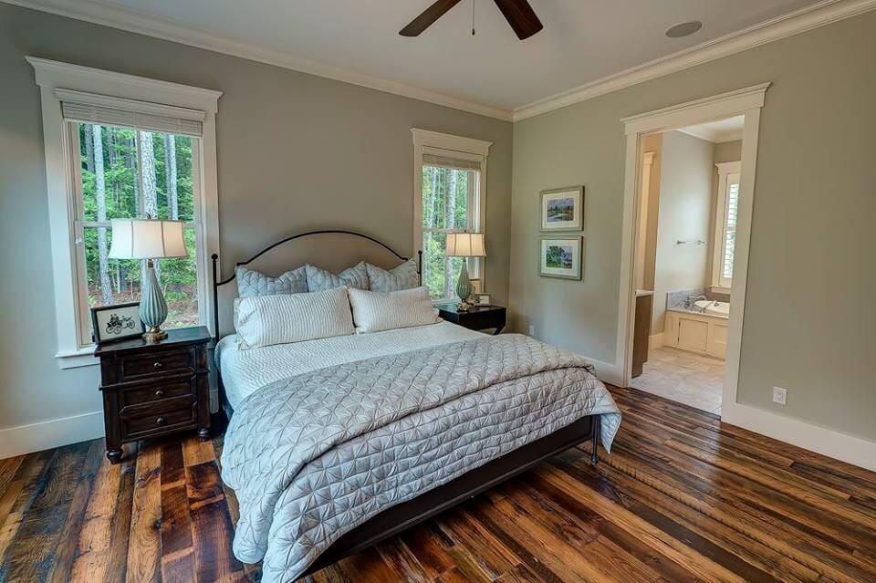 Bedroom flooring in Ridgeland, SC from Specialty Flooring