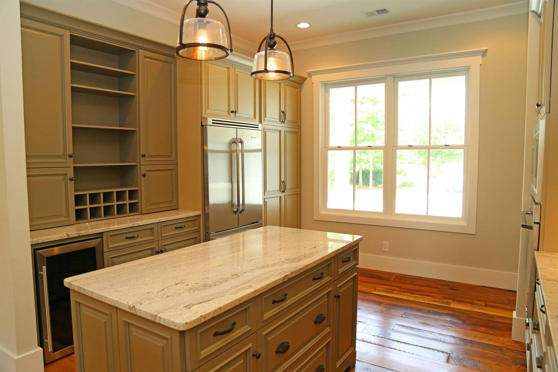Restored kitchen flooring in Bluffton, SC from Specialty Flooring